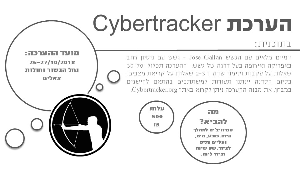 Cybertrackr evaluation
